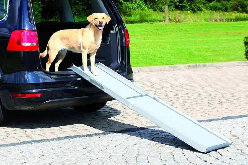 Honden loopplank voor auto telescopisch for Www comfort kussen nl