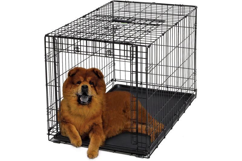 Hondenbench met een schuifdeur for Www comfort kussen nl