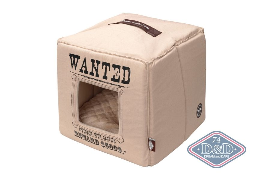 D&D Home collection Wanted Petcube Beige