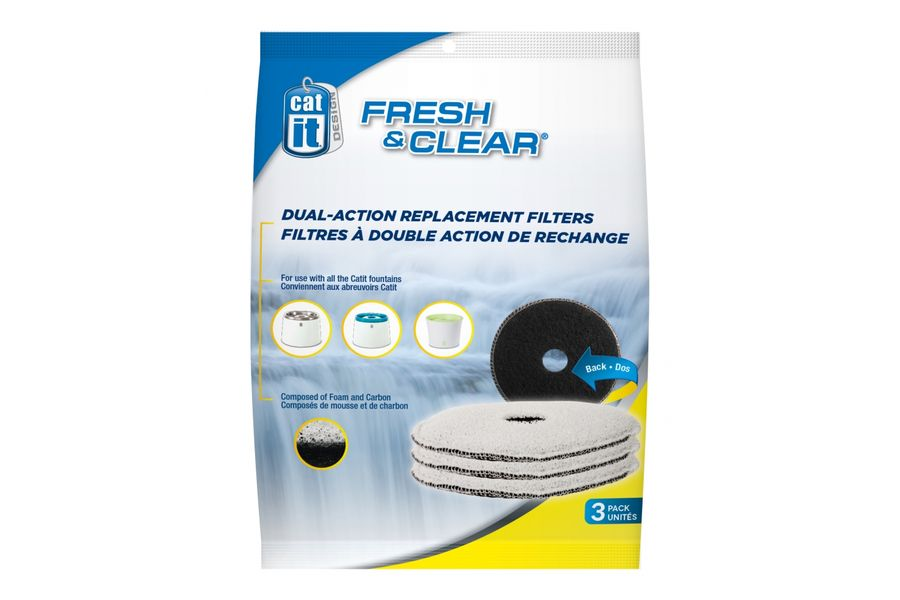 Catit Filter Fresh & Clear 2 liter (3 stuks)