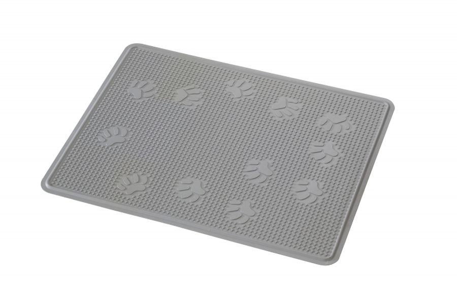 Kat toiletmat rubber grijs for Www comfort kussen nl