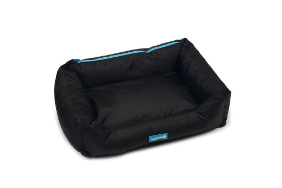 Hondenmand beeztees nylon cordax zwart for Www comfort kussen nl