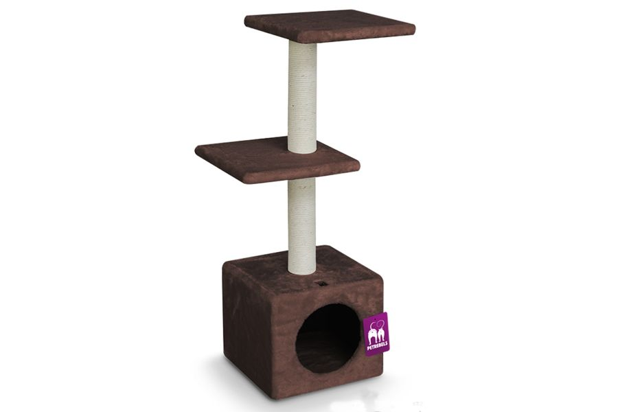 Pet Rebels Krabpaal Boston 90 Chocolate Brown