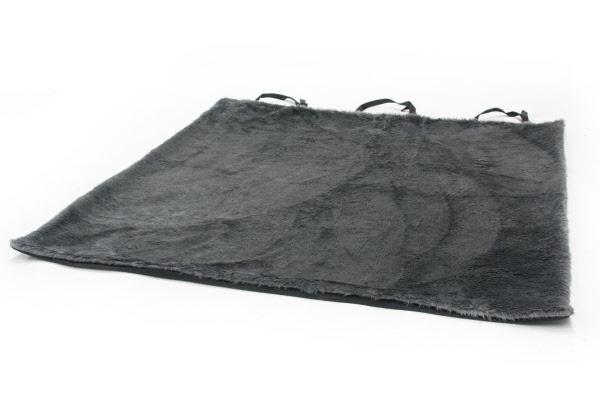 Foulard auto kleed teddy grijs for Www comfort kussen nl