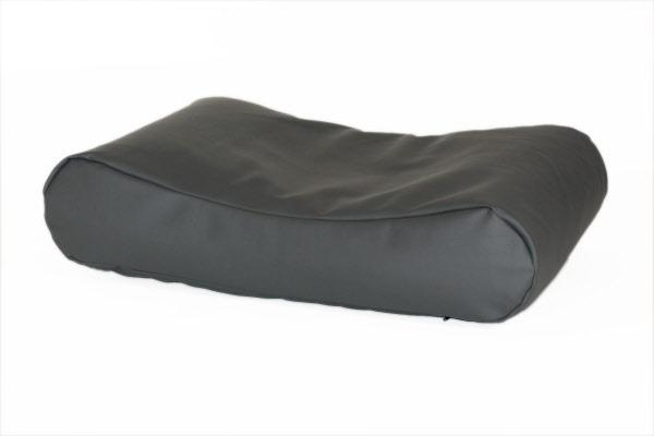 Comfort kussen hondenkussen deluxe leatherlook antraciet for Www comfort kussen nl