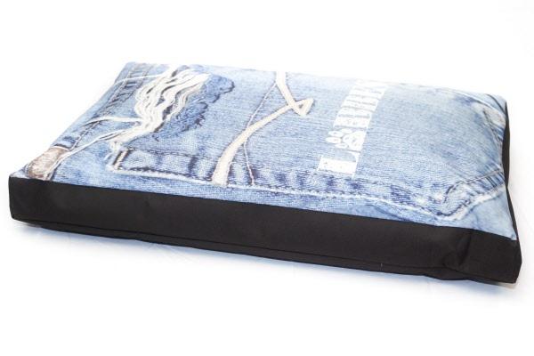 Hondenkussen jeans for Www comfort kussen nl