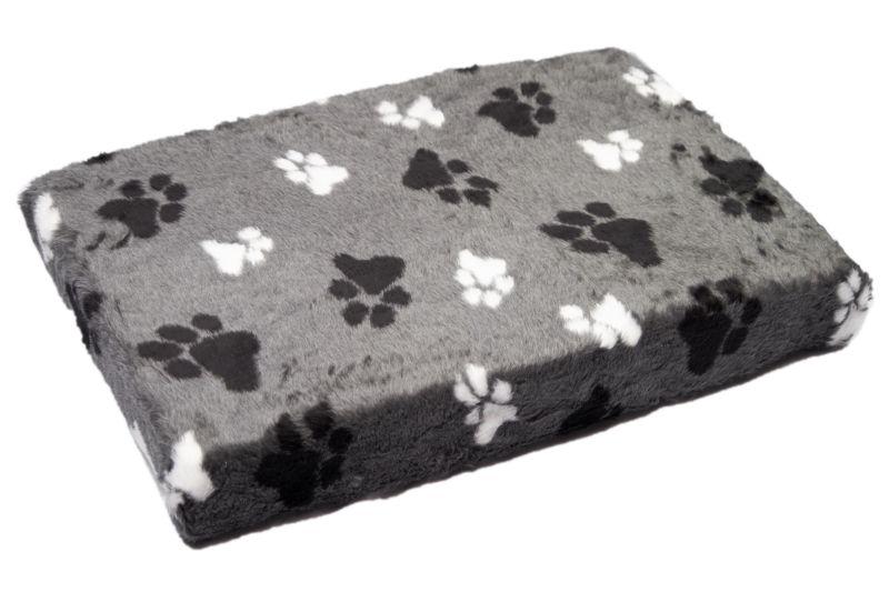 Comfort kussen matras overtrek met elastiek teddy grijs for Www comfort kussen nl