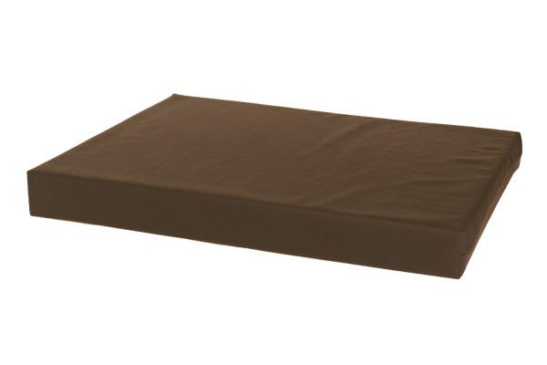 Comfort kussen orthopedisch hondenbed leatherlook bruin for Www comfort kussen nl