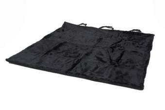 Foulard / auto kleed teddy zwart