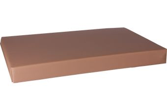 Orthopedisch hondenbed Leatherlook beige