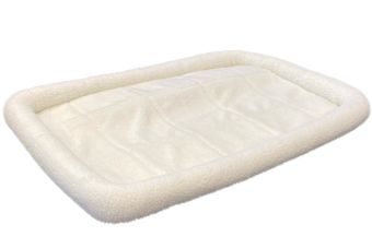Comfort Quiet Time Pet Bed Ecru